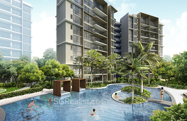 Northpark residences pool view