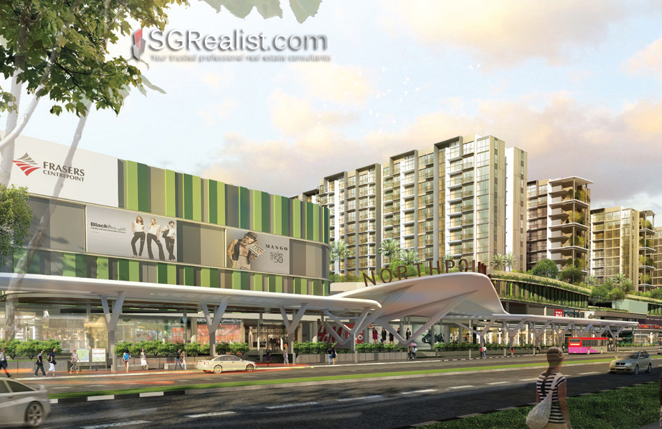 Northpark residences with Northpoint city