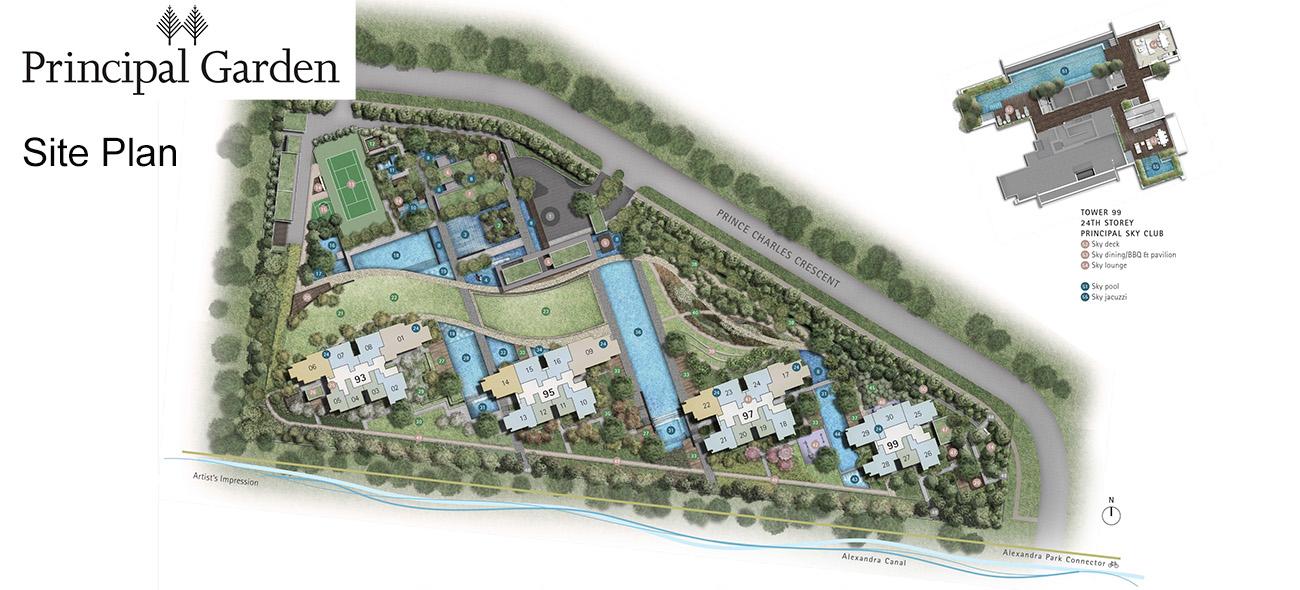 principal garden siteplan